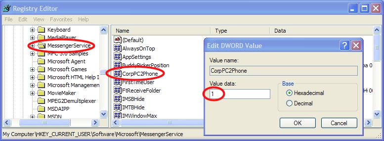 Configuring Messenger to use Asterisk | davidc net